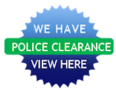 We have Police Clearance